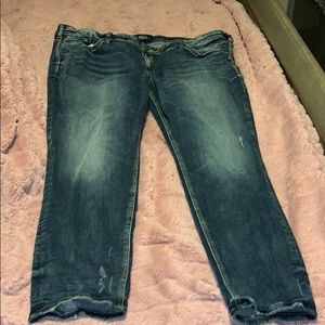 Silver jeans size 24 SHORT